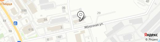 Закусочная на карте Калининграда