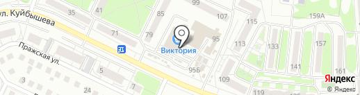 Мастерская по ремонту обуви и заточке режущих инструментов на карте Калининграда