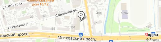 Глобал Логистик на карте Калининграда