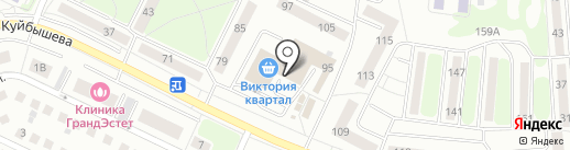 Dim dom на карте Калининграда