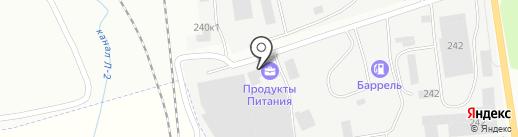 Качели на карте Калининграда
