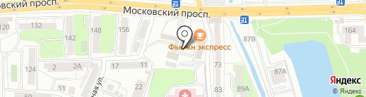 Квест-Хаус на карте Калининграда