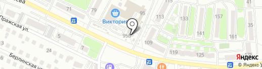ПластКон на карте Калининграда