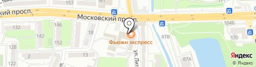 Access на карте Калининграда