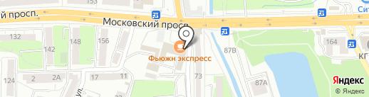 София Шарлотта на карте Калининграда