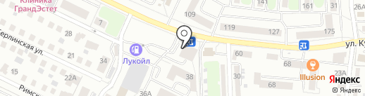 Хостел 39 регион на карте Калининграда
