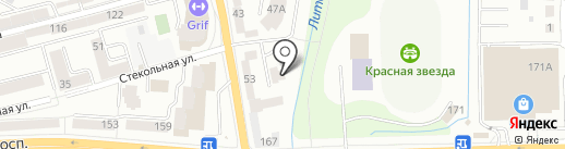 Орхидея на карте Калининграда
