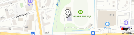 Ассорти на карте Калининграда