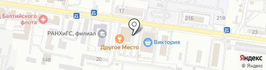 Мясное содружество на карте Калининграда