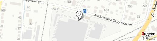 Альфаснаб на карте Калининграда
