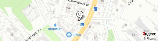ГРОССВАЛЬД на карте Калининграда
