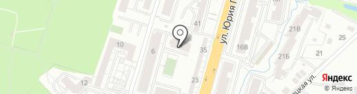 Laptop на карте Калининграда