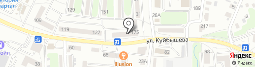БалтБизнес на карте Калининграда