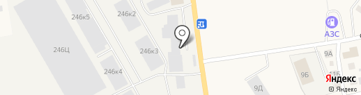 Благо на карте Калининграда