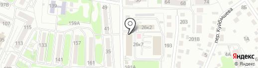 ФЕРРУМ на карте Калининграда