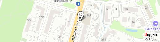 Практика мебели на карте Калининграда