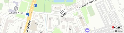 Светлогорскстрой-2 на карте Калининграда