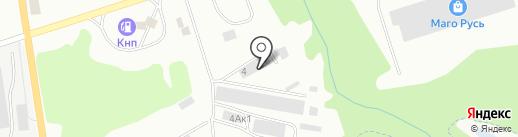 СтройПартнер на карте Калининграда