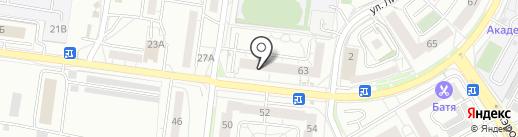 Fleur на карте Калининграда