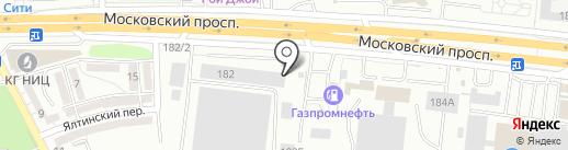 Теплица39 на карте Калининграда