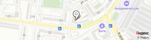 Виниссимо на карте Калининграда