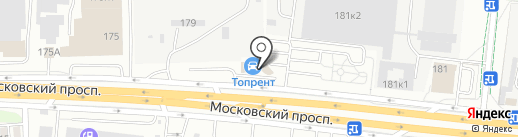 ТимСтройИнвест на карте Калининграда