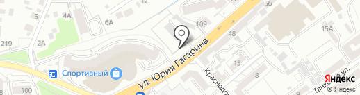 Центр организации движения и пассажирских перевозок, МКУ на карте Калининграда