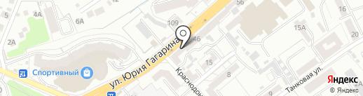 Салон ремонта одежды на карте Калининграда