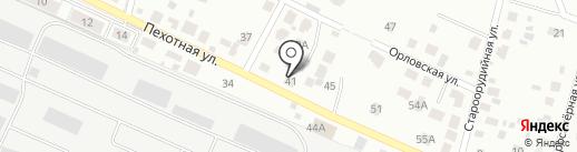 4WD на карте Калининграда