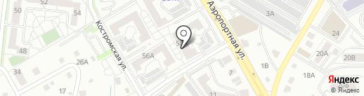 RICHMAN на карте Калининграда