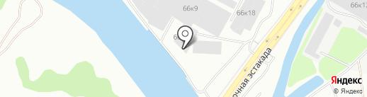 БалтСтройПласт Плюс на карте Калининграда