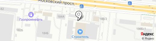 Бауцентр на карте Калининграда