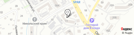 ТВ строй на карте Калининграда