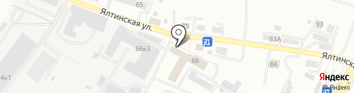 Перфетто на карте Калининграда