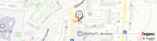 Микс-маркет на карте Калининграда