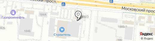 Деловая Упаковка на карте Калининграда