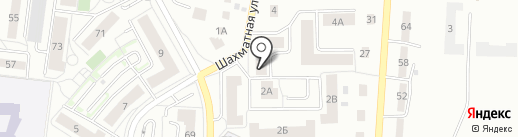 Икорный Дом на карте Калининграда