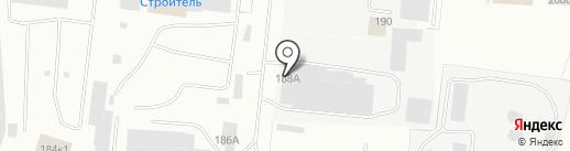 Чистый мир на карте Калининграда