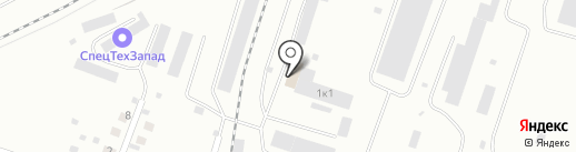 Автомастерская Александра Чупринюка на карте Калининграда