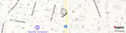 Люкс Инвест на карте Калининграда
