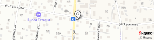 Магазин хозяйственных товаров на карте Калининграда