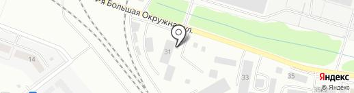 Грузовичкоф на карте Калининграда