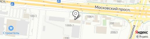 ВК-спецстрой на карте Калининграда