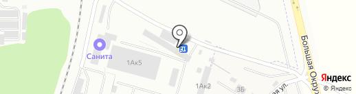 СПЕЦТЕХ на карте Калининграда