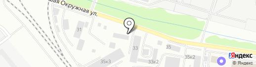 СП ЮРГЕН на карте Калининграда