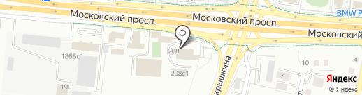 Атлас на карте Калининграда
