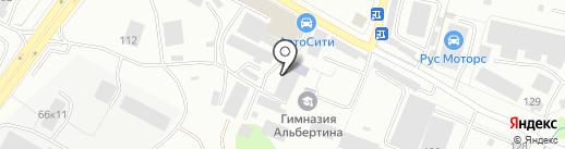 СитиМарин на карте Калининграда