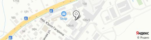 Главтеп на карте Калининграда