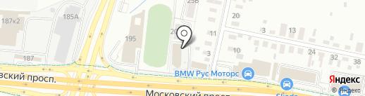 ЕСТ на карте Калининграда