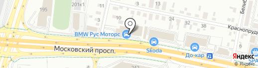 Рус Моторс на карте Калининграда